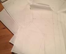 コスプレ等の衣類のパターン製作します