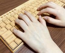 データ入力や文字起こし対応します 忙しいあなたの秘書としてお手伝い致します!