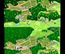 地図を作成致します オリジナルの地図が欲しい方へ カスタム致します
