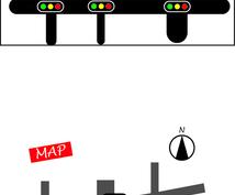 地図作成に自信アリ!!イメージをかたちにする手助け致します