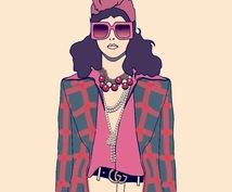 モードなファッション系のイラスト描きます モード系ファッションのイラストが必要なあなたへ