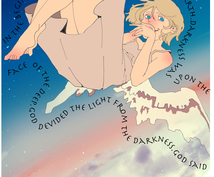 SNSのアイコン等ちょっとしたイラスト描きます 可愛い系からかっこいい系、女の子からおじさんまで描きます!