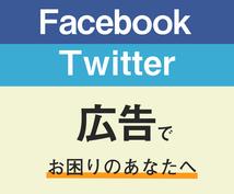 SNS広告のお悩みを3つ解決します Facebook/Twitter広告で集客を強化したい方へ