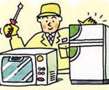 Panasonic家電製品の修理見積もりします