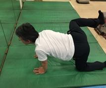 あなたの腰痛を「運動療法」で改善します プロトレーナーがあなたに合った腰痛改善プログラムを提案します