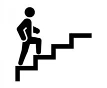 楽々♫階段登り方教えます 「たったこれだけ⁉︎」古武術の動きで楽々階段登り♫