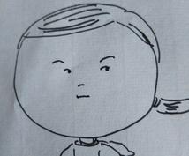 面白い似顔絵描いてます ラインやツイッターのプロフィール用など顔のみになります。