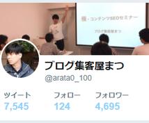 Twitterのフォロワー数を増やす方法伝授します フォロワー4600越えの具体的な戦略をレクチャー