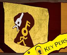 Key Personを作成します。