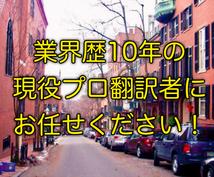 歴10年のプロが格安/高品質な英日翻訳を提供します 翻訳と意識させない自然な日本語で細かなニュアンスまで再現!