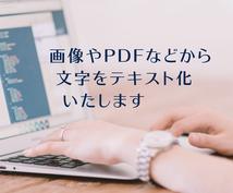 画像・PDF・手書きデータ等からテキスト化します 意外と面倒なテキスト化、パソコン苦手な方、忙しい方にも