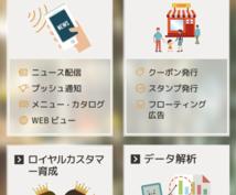 美容院/飲食店等のオリジナルアプリ作ります 店舗経営をしているオーナー様必見!!