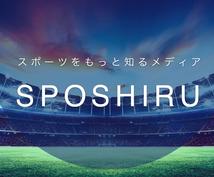 月間50万PVのスポーツメディアに広告を掲載します 集客力UP!1ヶ月間バナーリンクを掲載します!