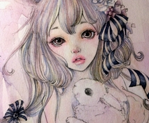 透明水彩でイラストお描きします ☆小説の表紙など、他と差をつける表紙などにしたい方!