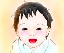 お子様の似顔絵、イラスト描きます お子様の記念等に♫好きなキャラクターもお付けします