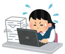 PDFから文字起こします アンケートデータの入力作業など