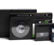 家に眠っているビデオテープを観られるように案内します