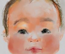 手描き似顔絵です。あっさりほのぼのパステル調でお届けします。