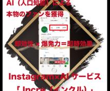 限定値下!InstagramにAIを導入します |【初回限定・半額】人工知能を利用した集客力を増強します!