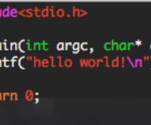 プログラミングの宿題・課題の相談にのります C・Java・Javascript・HTML/CSS等