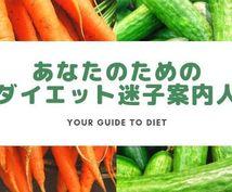 管理栄養士があなただけのダイエット提案します 【お試し1週間プラン】あなただけのダイエット