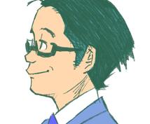 鉛筆風の似顔絵お書きします ナチュラル・イラスト系のやわらかい似顔絵をお探しの方へ