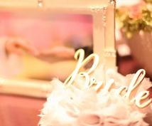 結婚式の段取り、見積り、テーマなど相談全般承ります 現役プランナーが見積りの削り方や手作り演出の方法を教えます
