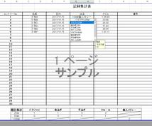 Excelにてデータ作成いたします 数字・文字入力が面倒くさい方、ぜひ!
