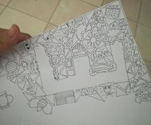 アニメ絵以外の絵を描きます 部屋に何か絵を飾りたいと思ったあなたへ!