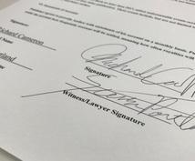 あなたの英字サイン(Signature)作成します 海外業務や旅行、他どこでも通用するサインを3つ作りましょう