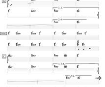 PCで見やすいコード譜面を制作致します 耳コピが苦手な方、バンドで演奏したいシンガーさんにオススメ!