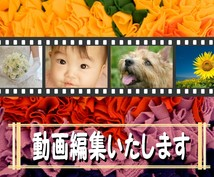 シンプルな動画編集を500円でいたします 編集したいのは1ヵ所だけなんだけど…そんな方にお勧めです♪