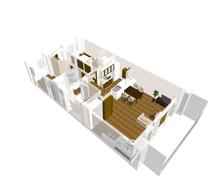 あなたのお家の「3D部屋モデル」を、作成代行します 新築物件のイメージ把握、リフォーム、お部屋の模様替えに便利!