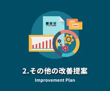 サポート付き★SEO改善指示書をPDFで納品します 3ヶ月の安心サポート付き!デザインや戦略に関する改善提案も!