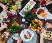 各個人の目的に合った食事や知識をアドバイスします スポーツ向上、身体作り、ダイエット等を栄養面からサポート!