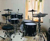 エレクトリックドラムでレコーディング致します 音楽スタジオを使用せずハイクオリティーなドラムを録音できます
