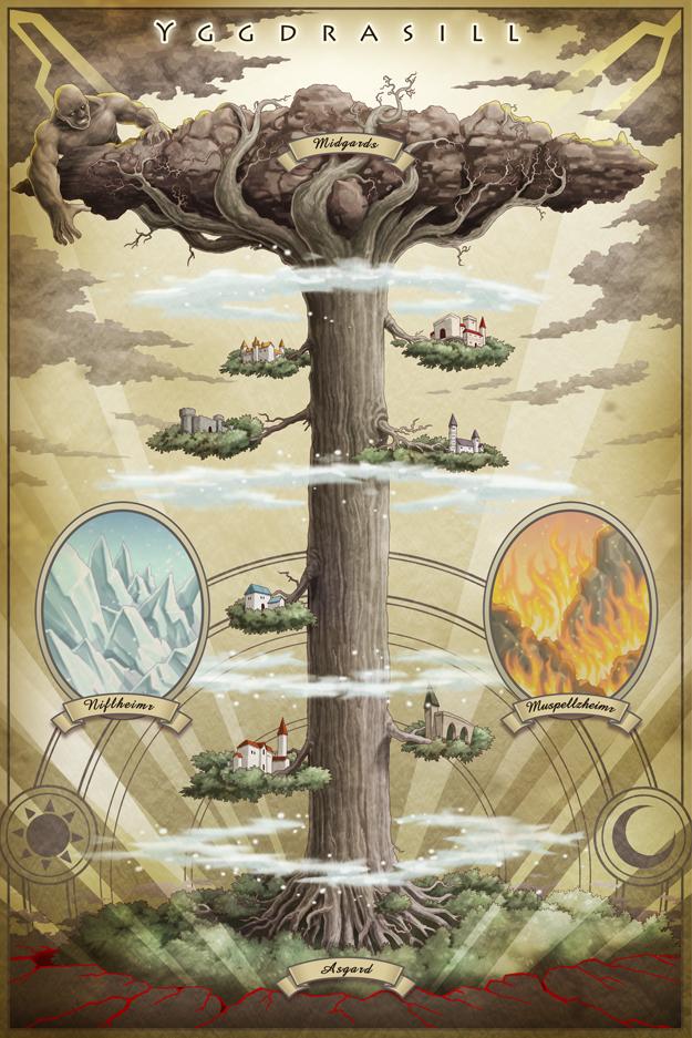 北欧の神々が宿る25の古代文字、ルーンで占います ★ ...